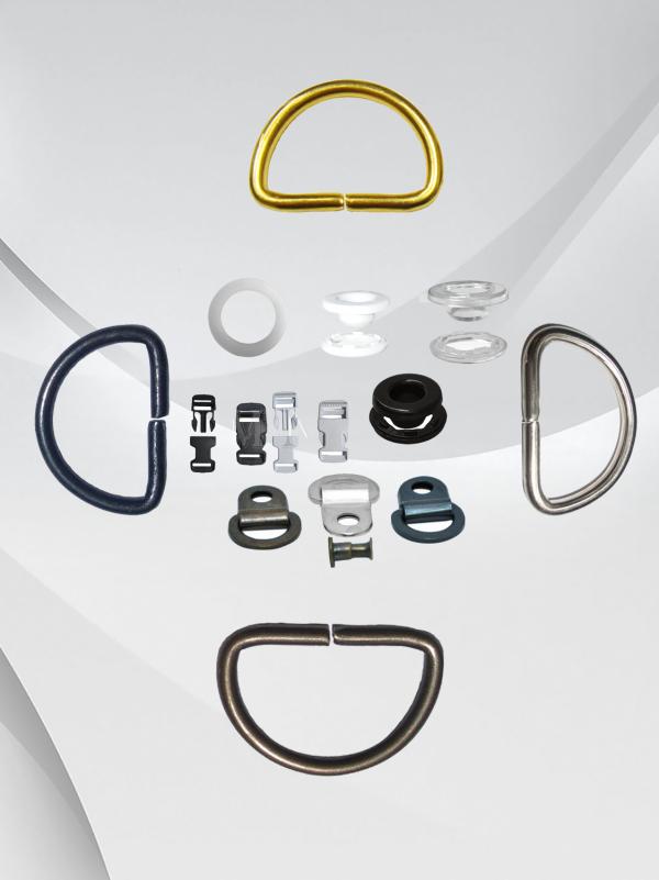 Plastic and Metal Hardware