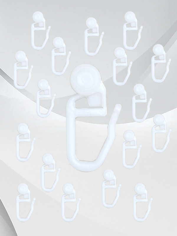 Drapes/Curtain Plastic Hooks